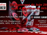 Infos Poker : Championnat Online de Juin 2021.