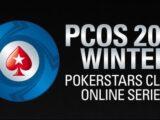 PokerStars Clubs Online Series (PCOS), du 20 au 31 octobre 2021.