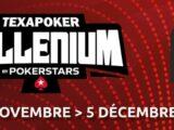 Texapoker Millenium by Pokerstars, du 29 novembre au 05 décembre 2021.